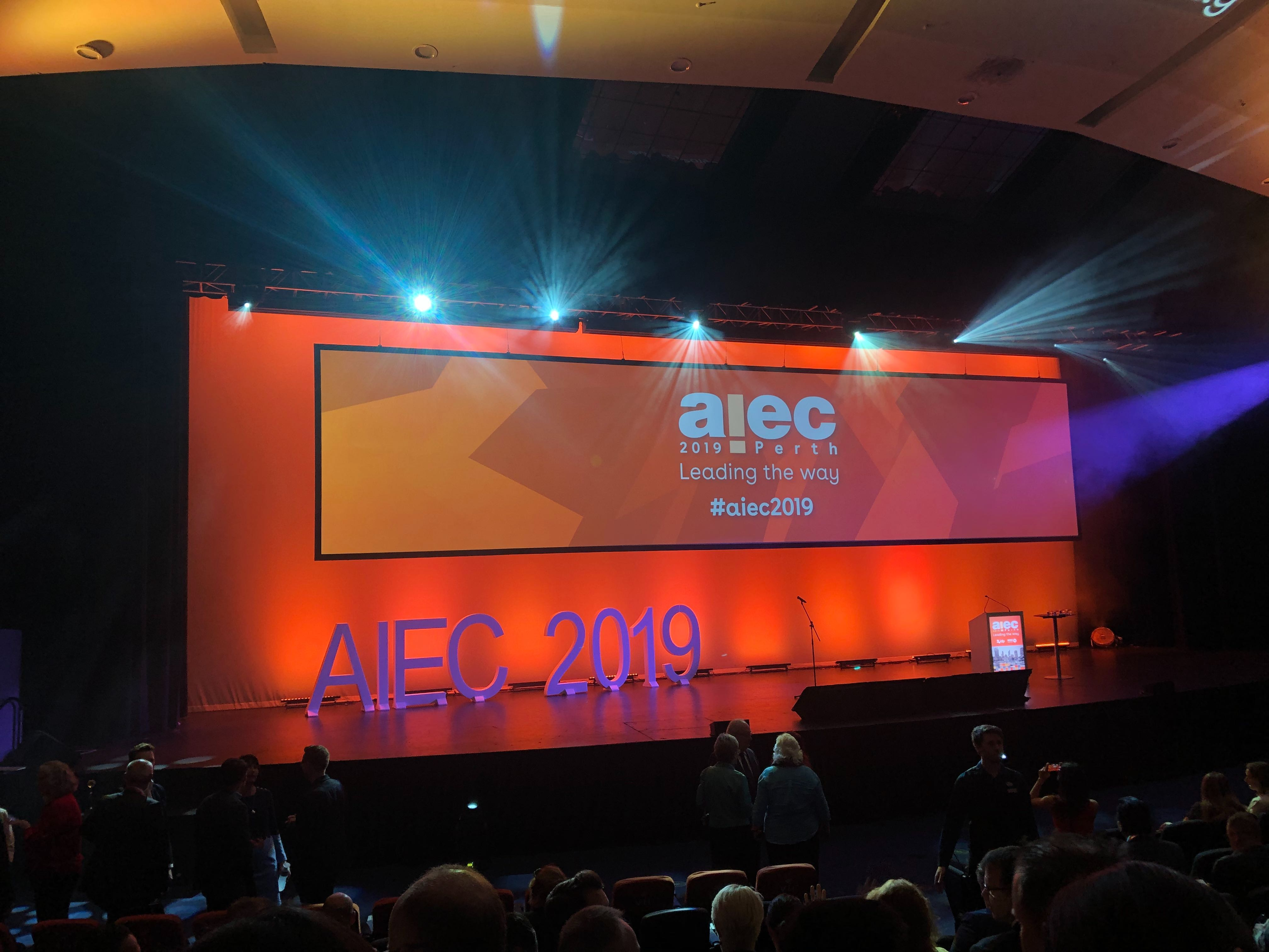 Aiec opening ceremony